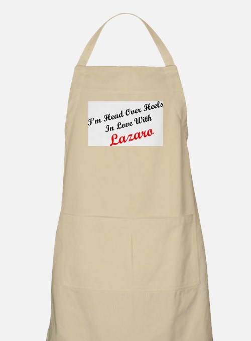 In Love with Lazaro BBQ Apron