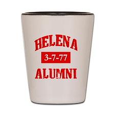 helena alum 2 Shot Glass