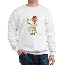 Daisy Bouquet Mouse Sweatshirt