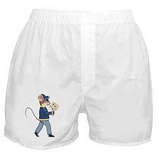 Daisy Bouquet Boy Mouse Boxer Shorts