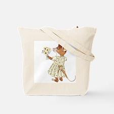 Daisy Bouquet Mouse Tote Bag