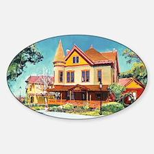 Christian House 2011 by Riccoboni Sticker (Oval)