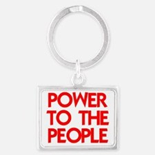 POWER TO THE PEOPLE Landscape Keychain