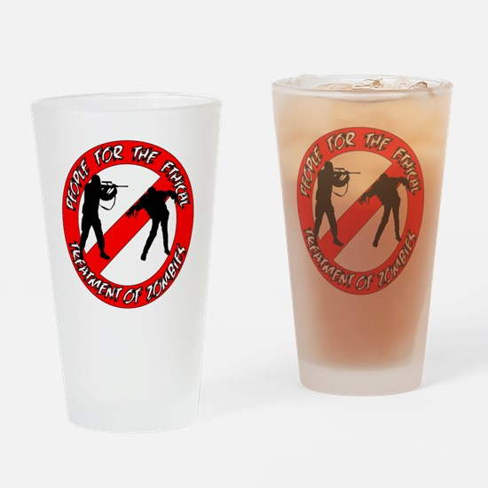 PETZ Logo Drinking Glass