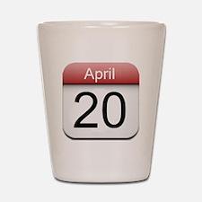iphone date 420 Shot Glass