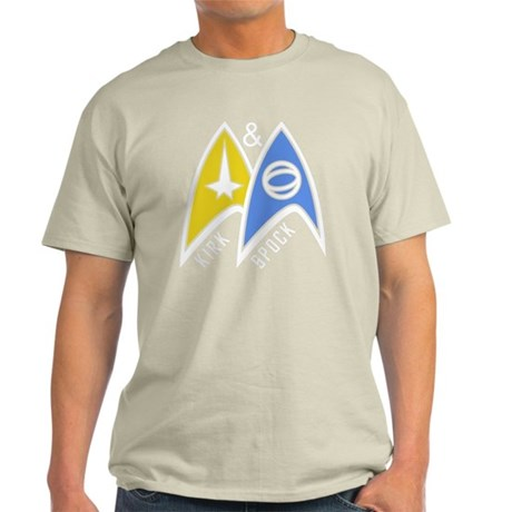 kirkandspock04 Light T-Shirt