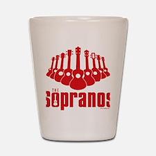 Sopranos Ukuleles Shot Glass
