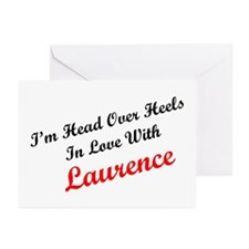 In Love with Laurence Greeting Cards (Pk of 10