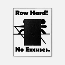 Row Hard Black Picture Frame