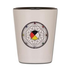 Mandala Final Shot Glass