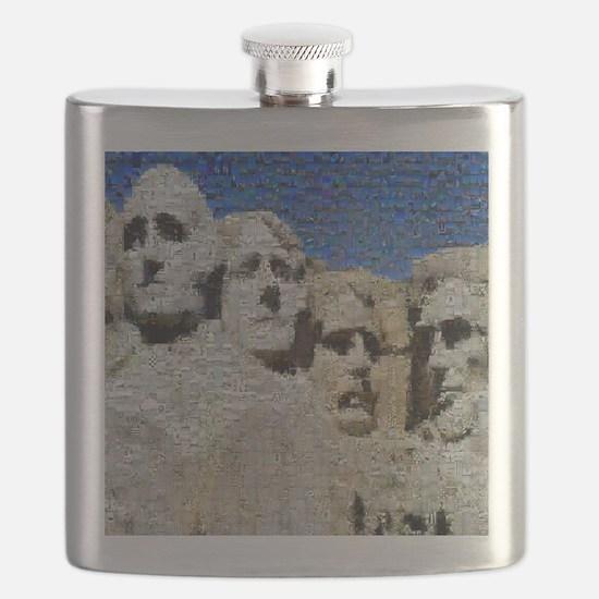 Mount_Rushmore_photomosaic Flask