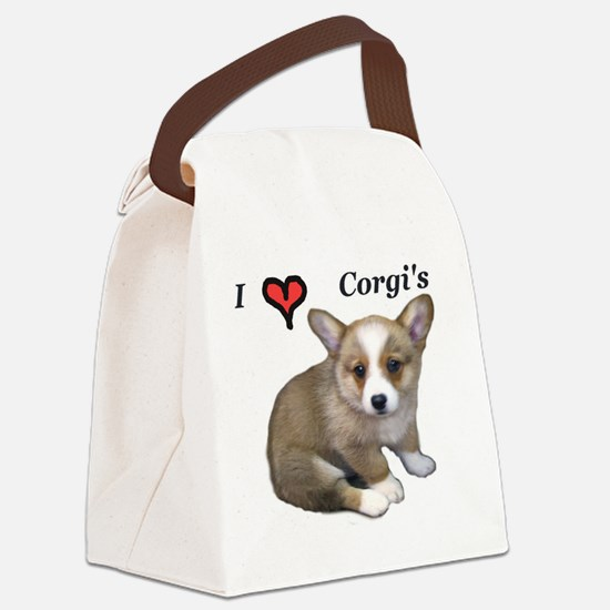 puppy 1 Canvas Lunch Bag