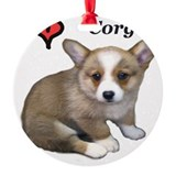 Corgie Round Ornament