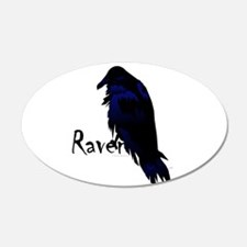Raven On Raven Wall Decal
