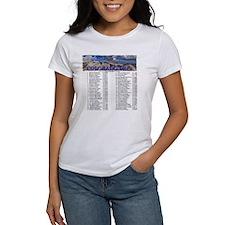 CO 14ers List T-Shirt NO BKGRND Tee