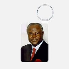 president_koroma Keychains
