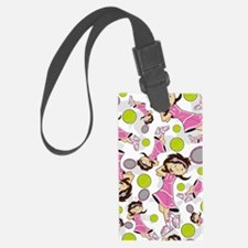Tennis Pad16 Luggage Tag