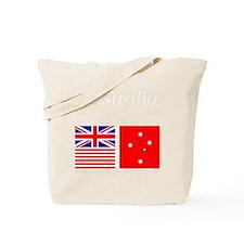 Design_for_Australian_Flag-DCW-Dark Tote Bag