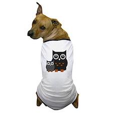 Owls (1) Dog T-Shirt