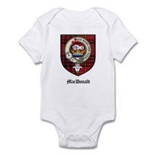 MacDonald Clan Crest Tartan Infant Bodysuit