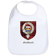 MacDonald Clan Crest Tartan Bib