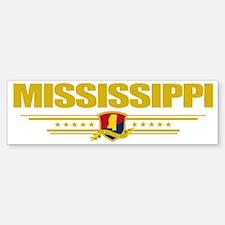 Mississippi (Flag 10) pocket Bumper Bumper Sticker
