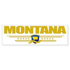 Montana (Flag 10) pocket Bumper Sticker