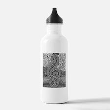 Tree Clef-1 Water Bottle
