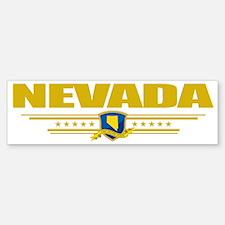 Nevada (Flag 10) pocket Bumper Bumper Sticker