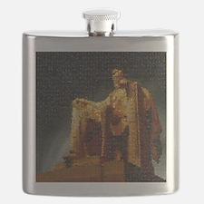 lincoln_memorial_mosaic_terrylynch Flask