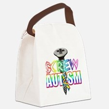 Screw Autism Canvas Lunch Bag