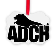 ADCHStickerSheltie Ornament