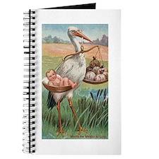 Vintage Stork Journal