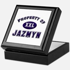 Property of jazmyn Keepsake Box
