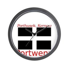 Portwenn_Dark Wall Clock