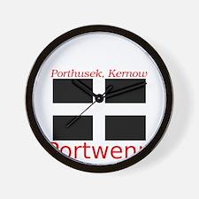 Portwenn_Dark Wall Clock