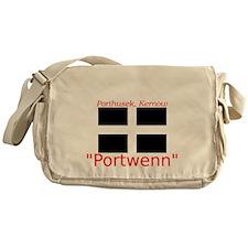 Portwenn_Dark Messenger Bag
