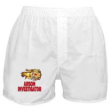 Arson Investigator Boxer Shorts