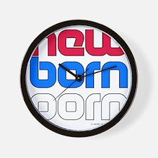 New Born Porn (alt) Wall Clock