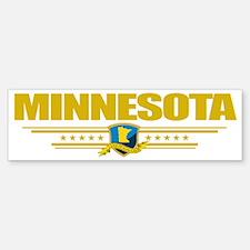 Minnesota (Flag 10) pocket Bumper Bumper Sticker
