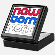 New Born Porn (alt) Keepsake Box