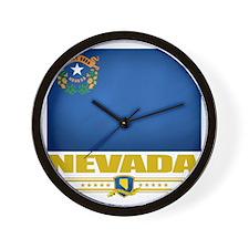 Nevada (Flag 10) Wall Clock