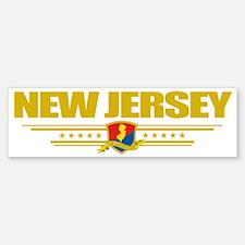 New Jersey (Flag 10) pocket Sticker (Bumper)