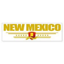 New Mexico (Flag 10) pocket Bumper Sticker