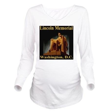 lincoln_memorial_was Long Sleeve Maternity T-Shirt