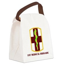 SSI - 1st Medical Brigade with te Canvas Lunch Bag