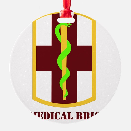 SSI - 1st Medical Brigade with text Ornament