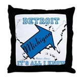 Detroit abstract artwear Home Accessories