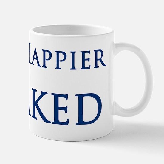 Happier Naked Mug