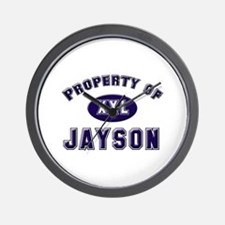 Property of jayson Wall Clock
